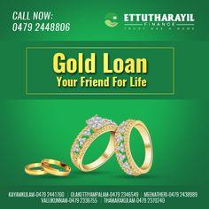 GOLD LOAN YOUR FRIEND FOR LIFE #Ettutharayil #Finance