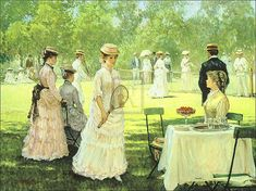 Alan Maley Artist | Alan Maley - Summer Pastime