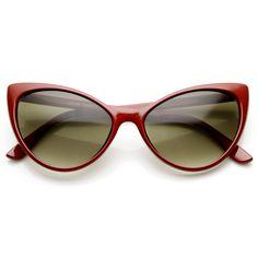 Elegant Womens 1950's Fashion Cat Eye Sunglasses 9462   zeroUV