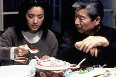 Eat Man Drink Woman (1994) has everything that makes it a wonderful movie.  Beautifully filmed and performed, great characters and unexpected twists.  And I'm very glad the middle daughter didn't end up with the loser boyfriend!