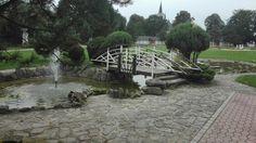 Ludzmierz Garden Bridge, Outdoor Structures, Patio, Outdoor Decor, Home, Ad Home, Homes, Haus, Terrace