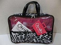 Caboodles Weekender Travel Zebra Cheetah Tote BlackWhite 075 Pound ** For more information, visit image link.