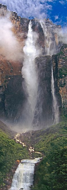 Angel Falls In Canaima National Park, Venezuela