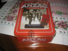 Collectable 2013 Unibic Anzac Tin - Victoria Cross  New, unopened + biscuits | eBay