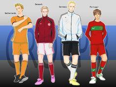 EURO 2012 Group of Death ~ Hetalia