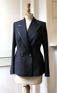 Timothy Everest Tuxedo jacket for Tracey Emin