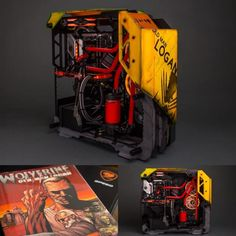 Case Mod Mondays is a way for us, Modders Inc, to help start your week off in the right direction. This Monday we have a case mod that does not have all the flashing RGB lighting puke that everyone, except me, loves. The Old Man Logan case mod by Derek Wilson of Rhoadspc takes us …