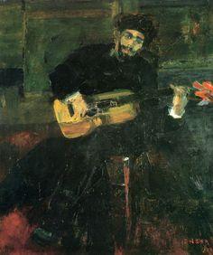 Retrato de Dario de Regoyos. James Ensor 1860-1949