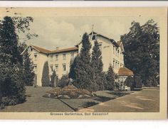 Große Gartenhaus 1930