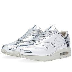 size 40 f7f21 f05da Nike Air Max 1 SP Liquid Silver (Metallic Silver amp Light Bone