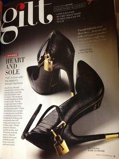 Tom Ford Shoes Black & Gold like NOLA Saints!