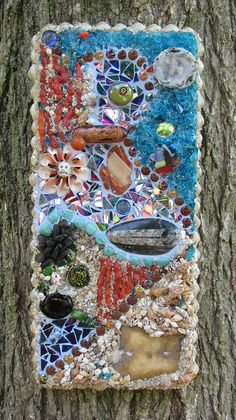 Seafloor by StJohnsGypsy, via Flickr  really nice found object mosaic!