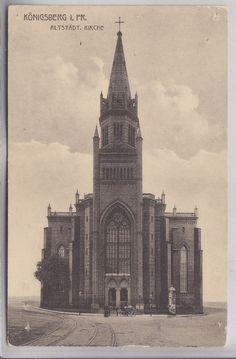 Königsberg- Ostpreußen- Altstädt. Kirche