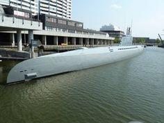 Germany's Type XXI U-2540 in Bremerhafen