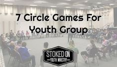 7 Circle Games For Youth Group – Stoked On Youth Ministry Kids Group Activities, Mutual Activities, Group Games For Kids, Games For Teens, Church Activities, Family Games, Games For Children, Group Activity Games, Fun Games