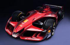 2015 Ferrari Future F1 car