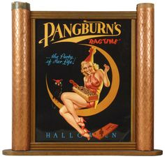 Love the old Pangburn signs.  I actually came across a set of Pangburn greeting cards from the 60's in excellent condition.