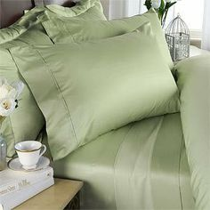"""6pc Twin XL 1200 Thread Count Egyptian Cotton Sheet Duvet Comforter BED IN BAG, Sage by Egyptian Cotton Factory Outlet Store. $229.99. 1 Luxury Goose Down Alternative Comforter (66"""" x 90""""). Duvet covers slip over the comforter creating new luxury look. 3 Piece Twin XL Sheet Set, 2 Piece Twin XL Duvet Set & 1 Twin XL Comforter. Beautiful Duvet Set : 1 Duvet Cover (66"""" x 90"""") and 1 Shams (20"""" x 36""""). 1 Flat Sheet (70"""" x 102""""), 1 Fitted Sheet (39"""" x 80"""") and 1 Pillo..."""