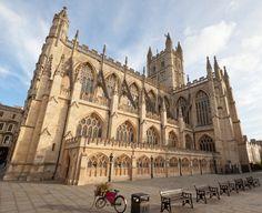 Bath Abbey, Bath, Somerset, South West England, UK