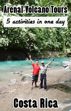 This combo tour in Arenal is full day of fun activities including hiking the hanging bridges, hiking the national park, visiting La Fortuna waterfall, learning about the local farms and hot springs