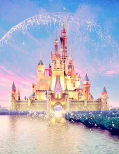 disney, castle, and magic image