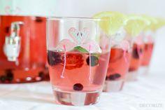 Auf ein Glas Flamingo Limo: Pink-Lemonade-Bar #Flamingo #Limo #Sommer #Schönbeidir   @decorized