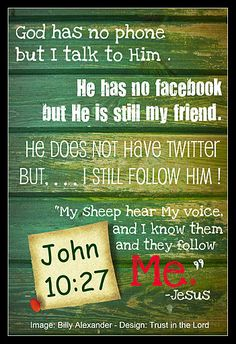 Following God vs Social Media