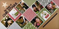 the magic of christmas by Summer Fullerton #scrapbook #layout #sctmagazine