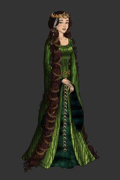 Queen Elinor by starshipsally ~ High Fantasy Dress Up