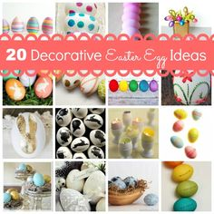20 Decorative Easter Egg Ideas at Design, Dining + Diapers