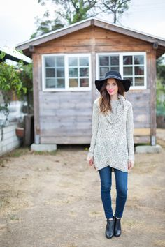 comfortable and cozy fall outfit on M Loves M @marmar