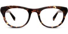 Warby Parker June in Burnt Lemon Tortoise