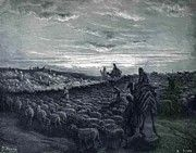 """New artwork for sale! - """" Abraham Journeying Into The Land Of Canaan 1866 by Dore Gustave """" - http://ift.tt/2jxYIfB"""