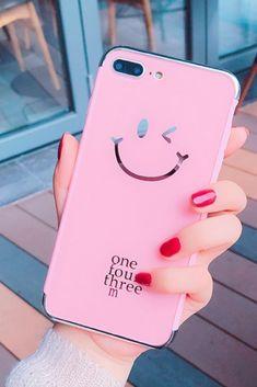 Smile iphone 6, iphone 6 plus, iphone 7 & iphone 7 plus protective Case For cute girl #AppleIphone6 #iphoneaccessories, #iphone7pluscase Iphone 6 S Plus, Cool Iphone Cases, Cute Phone Cases, Apple Iphone 6, Apple Coque, Iphone7 Case, Accessoires Iphone, Mobile Covers, Coque Iphone