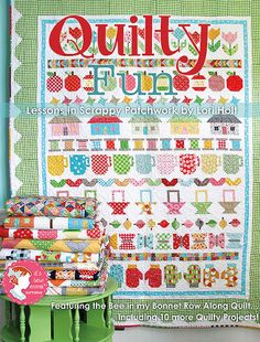 Big news on the Jolly Jabber! We partnered with Lori Holt of Bee in My Bonnet for her very first book, and we promise it is TONS of #QuiltyFun !