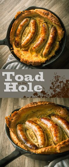 Skillet Toad in the Hole Recipe: Bubble and Squeak is traditionally a left over dish, I like to do mine a little differently and blast it all in a cast iron skillet and rock it with an egg or two.