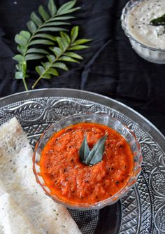 Pavi's Platter: Red Chutney / Spicy Tomato Chutney !