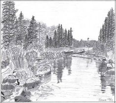Drawing Gallery - Landscape