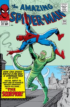 Amazing Spider-Man #20: the original Marvel Universe appearance of the Scorpion