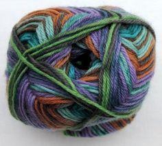 Hot Socks Diamond by Grundl - Smaragd multicolor 1674-01, 75% Merino superwash by ColorfullmadeShop on Etsy
