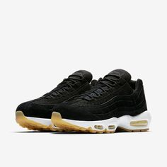 0191fe7f1ad21 Cheap Nike Air Max 95 Premium Black Muslin White Sale