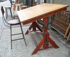 Drafting Tables Vintage Drafting Table Fantastic Metal Hardware