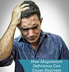 Learn how low magnesium levels can cause dizziness, tips for coping with dizziness, how I stopped my dizziness completely.