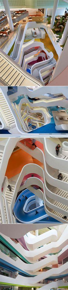 Medibank Building - Melbourne http://www.thecoolhunter.net/article/detail/2337/medibank-building--melbourne
