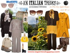 Plus Size over 40 - An Italian Theory