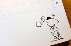 #Cute #Notebook #Doodle #LadyUmbrella