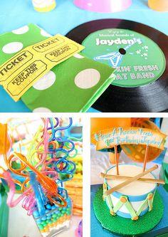 Rockin' Fresh Birthday Party by Precious Style, via Flickr
