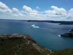 Iceberg near Fort Amherst, St. John's, NL (June 2014)