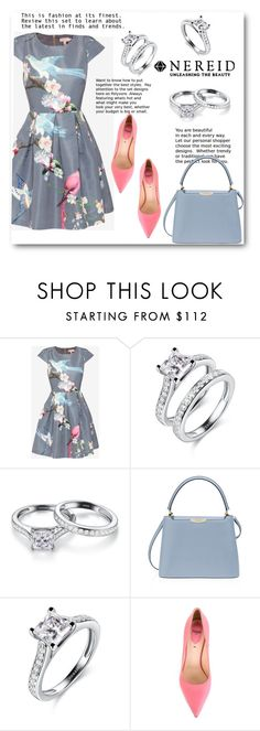 """""""NEREID"""" by elly-852 ❤ liked on Polyvore featuring Ted Baker, Henri Bendel, Fendi and nereid"""