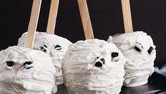 Mummy Head Candy Apples